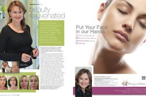 Dr Kushelew in 'Resident Magazine'